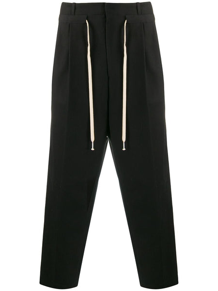 Drawstring Tailored Trousers