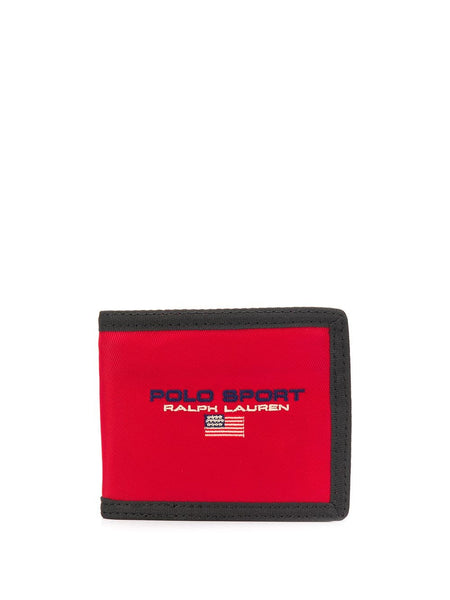 Embroidered Logo Wallet