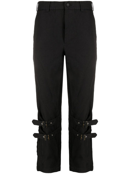 Buckled Cropped Trousers