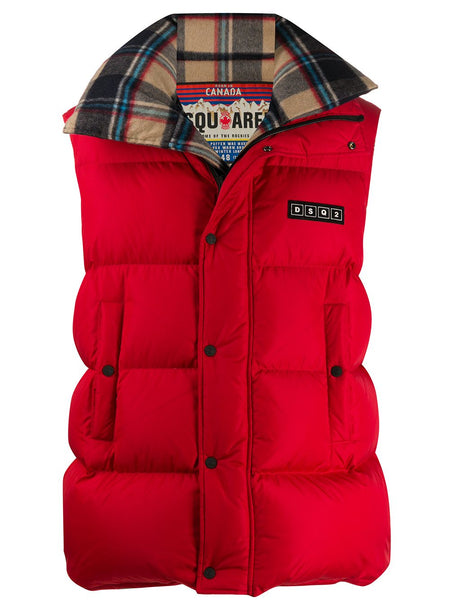 Logo-Patch Padded Gilet