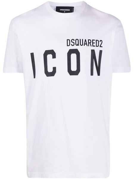 Icon-Print Crew-Neck T-Shirt