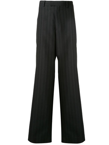 Undercover Wide Leg Trousers Black