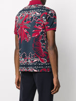 All-Over Print Polo Shirt