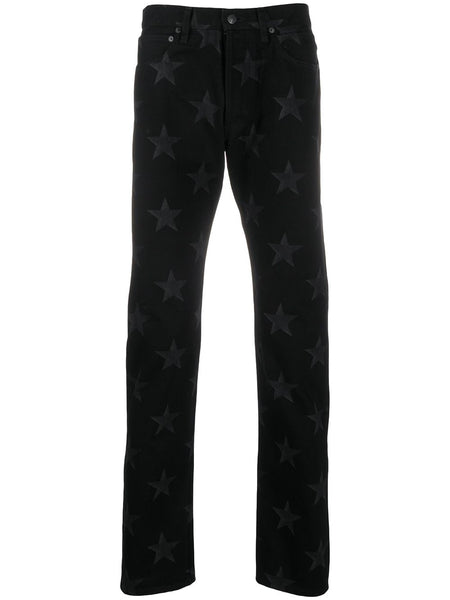 Star Printed Cotton Trousers