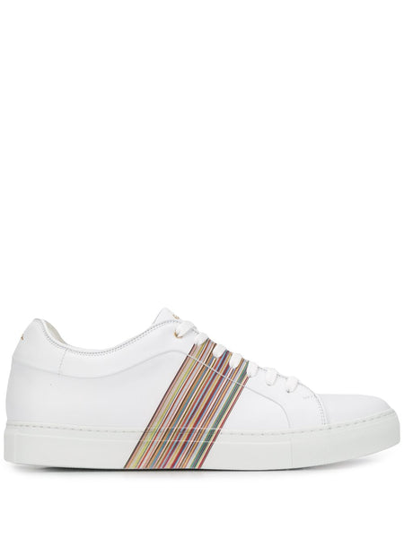 Side Striped Low Top Sneakers