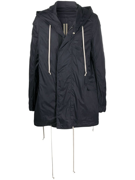 Buttoned Hooded Parka