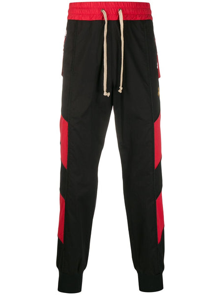 Embroidered Orb Track Pants