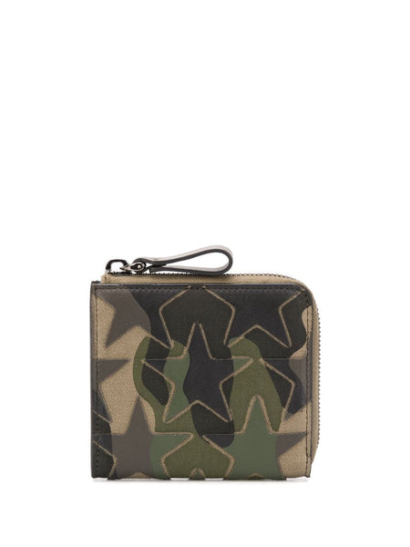 Camouflage Star Patch Wallet