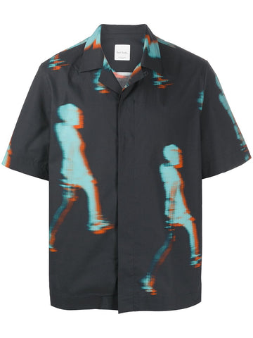 Paul Smith Graphic Bowling Shirt