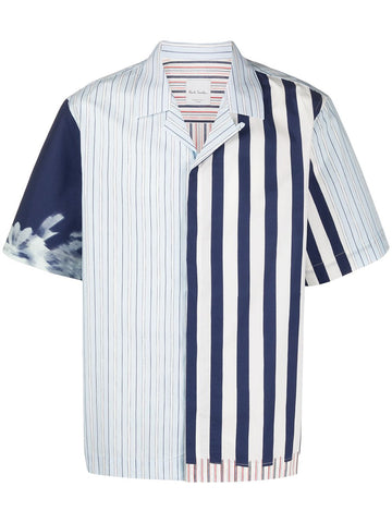 Paul Smith Multi Stripe Bowling Shirt