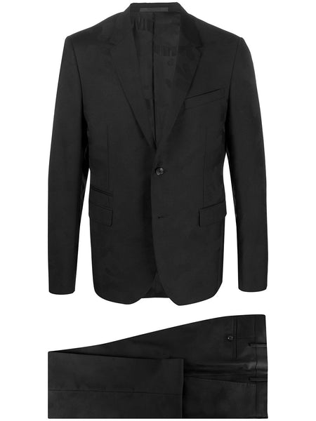 Camouflage Jacquard Tailored Suit