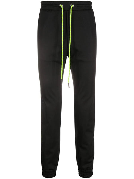 Contrast Drawstring Track Pants