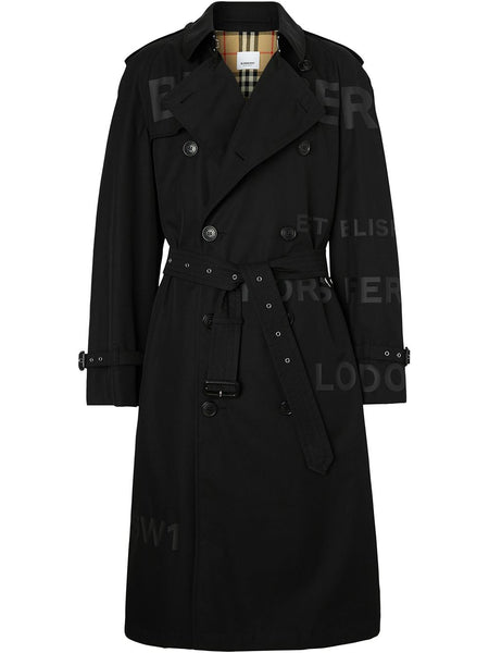 Horseferry Print Trench Coat