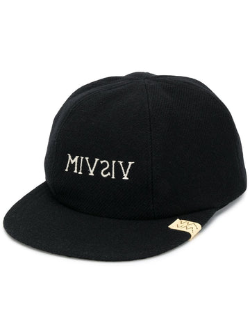 Visvim Logo Embroidered Cap