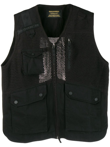 Scrim Net Organic-Cotton Gilet