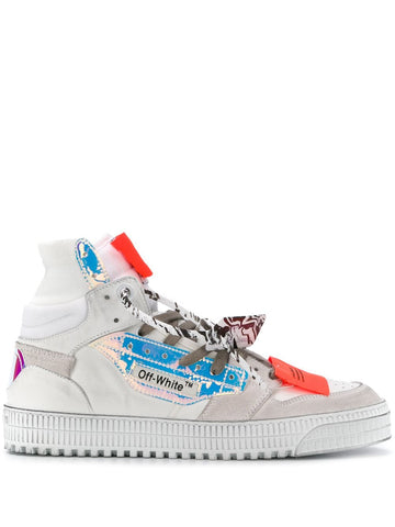 Off White Court Hi Top Sneakers