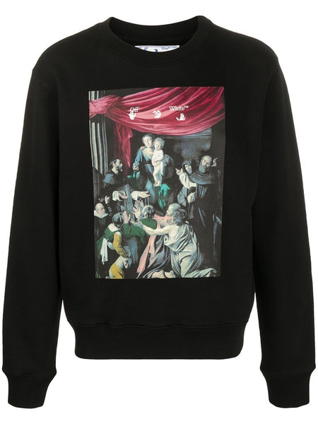 Caravaggio Painting Long-Sleeve Sweatshirt