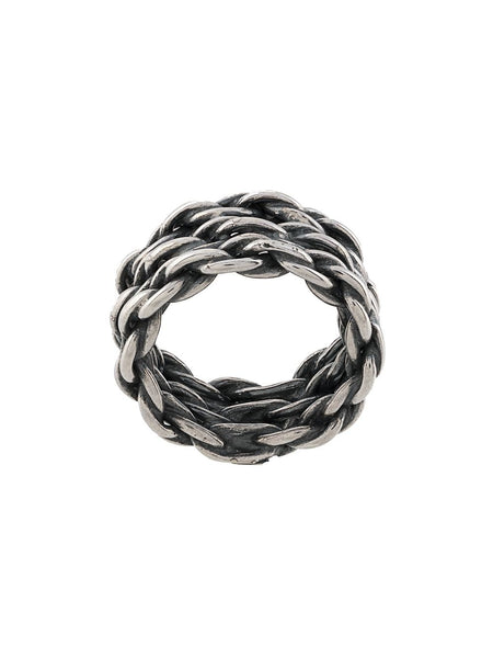 Engraved Chain Ring
