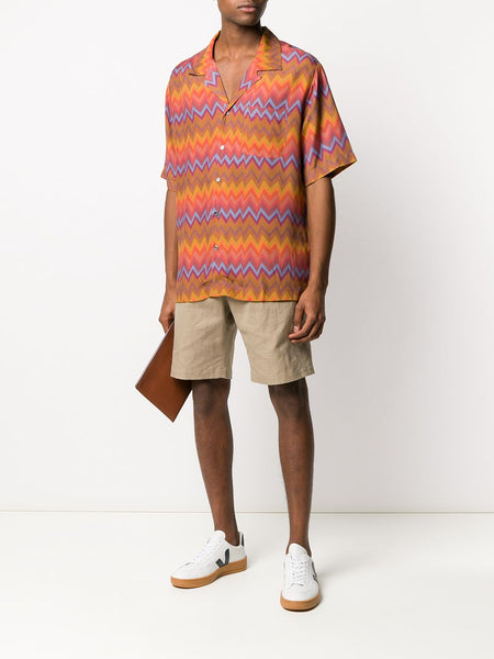 Zigzag Pattern Shirt