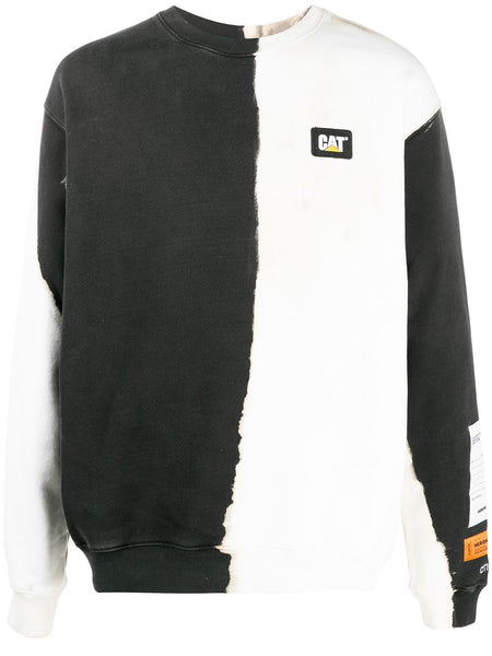 Long Sleeve Two-Tone Sweater
