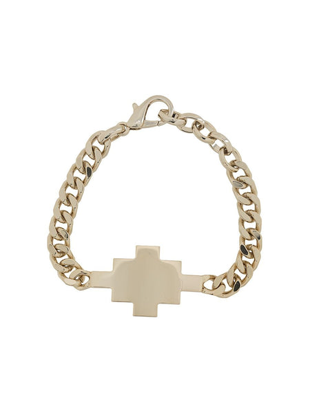 Cross Chunky Chain Link Bracelet