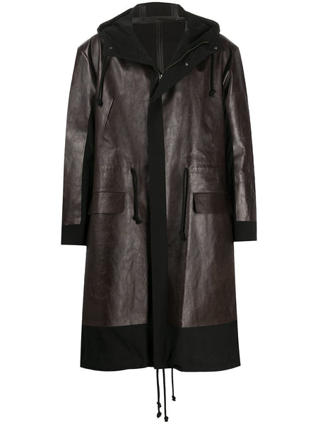 Panelled Mid-Length Coat