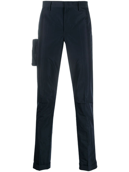 Zip Pocket Skinny Trousers