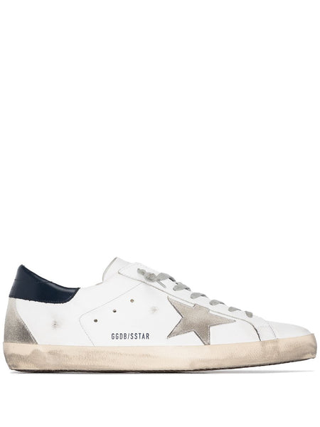 White Superstar Low-Top Sneakers