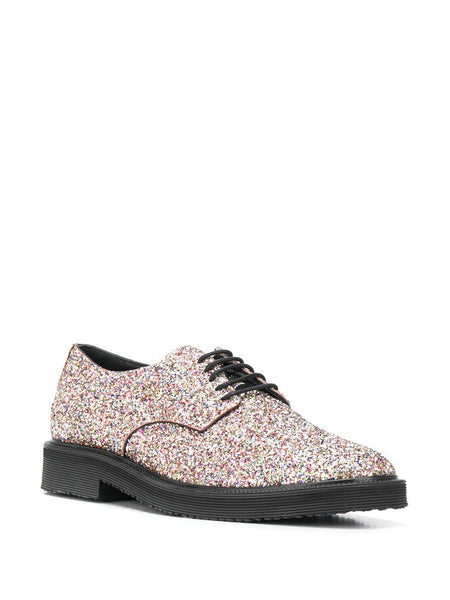 Glitter Oxford Shoes