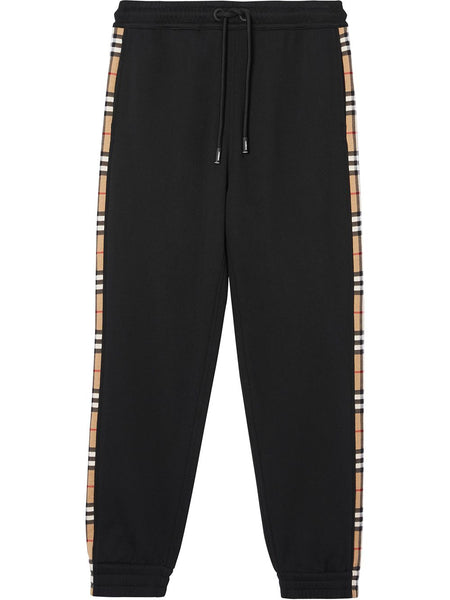 Vintage Check Panelled Track Pants