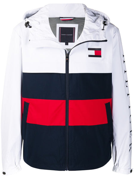 Block Color Track Jacket