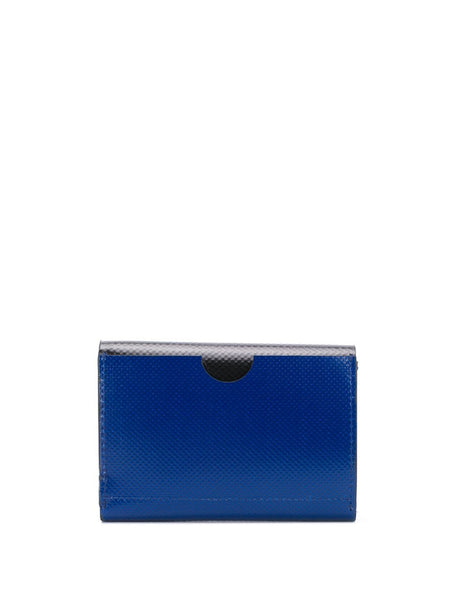 Electric Blue Colour Block Wallet