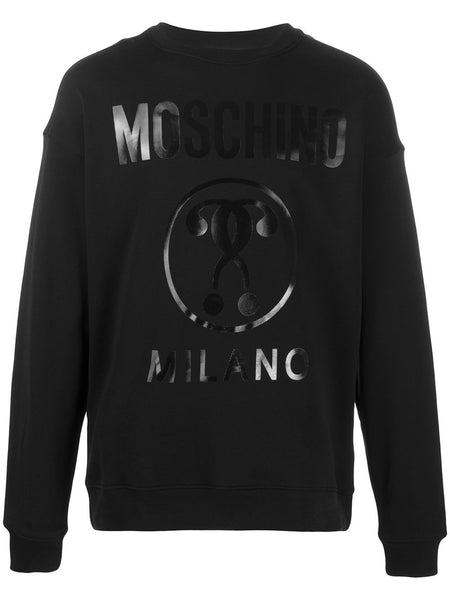 Question Mark Milano Logo Sweatshirt