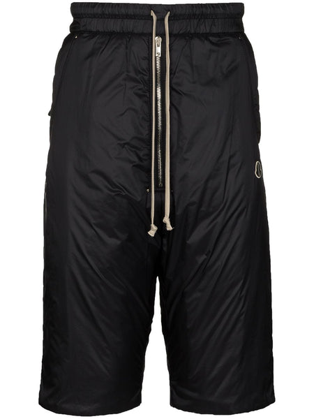 Drawstring Waist Padded Shorts