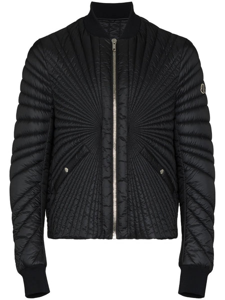 Zip-Up Short Padded Jacket