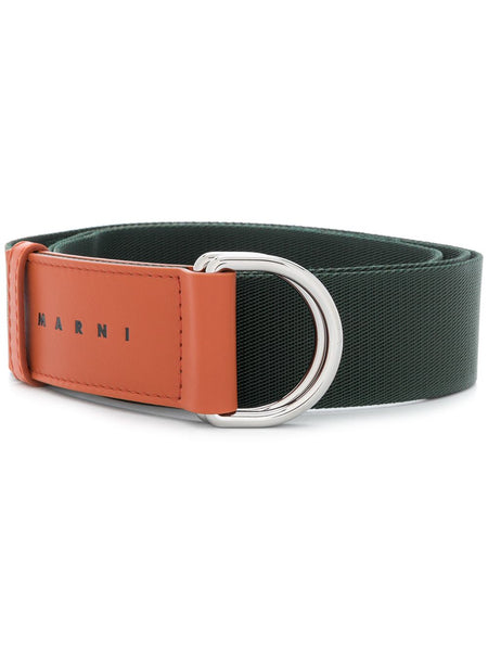 Two-Tone D Ring Belt