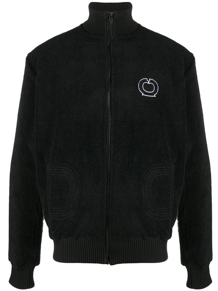 Textured Cotton Track Jacket