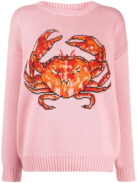 Crab Intarsia Sweater