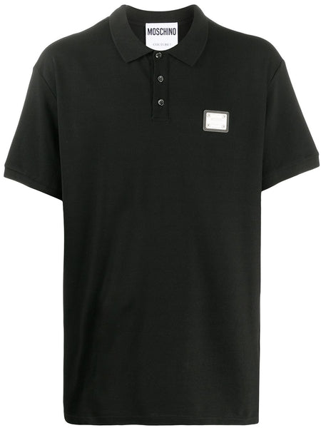 Logo-Plaque Polo Shirt