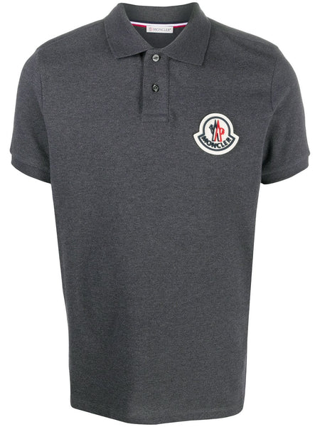 Logo Patch Polo Shirt