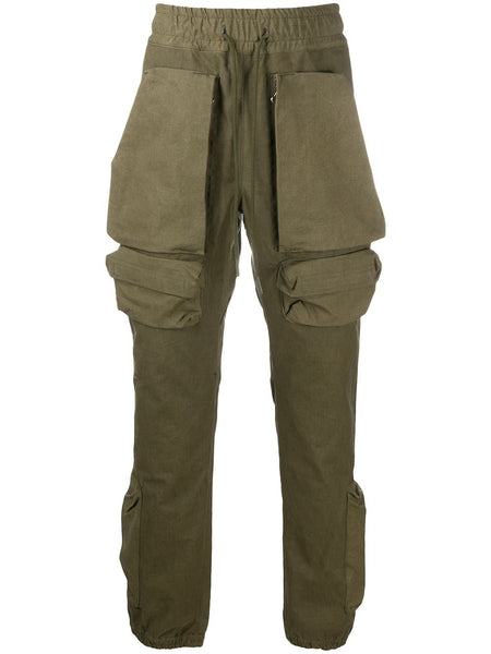 Straight Leg Front Flap Pocket Trousers