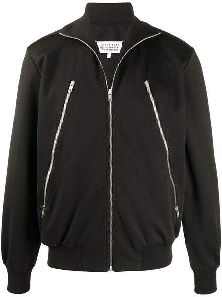 Zip-Detail Jacket
