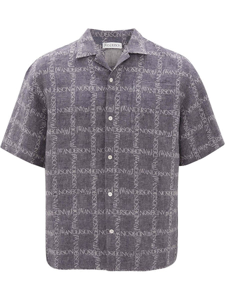 All-Over Logo Print Shirt