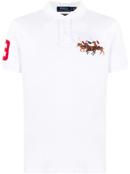 Triple-Pony Polo Shirt