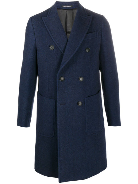Double-Breasted Fitted Coat
