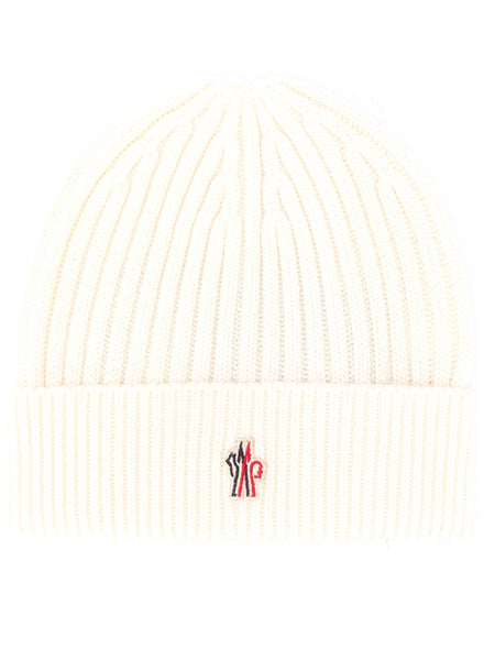 Logo Embroidered Beanie Hat