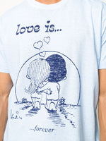 Love Is Forever Printed T-Shirt