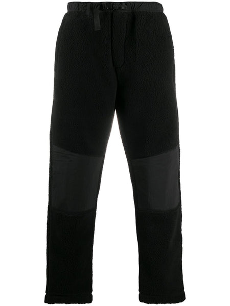 Buckle-Fastening Panelled Trousers