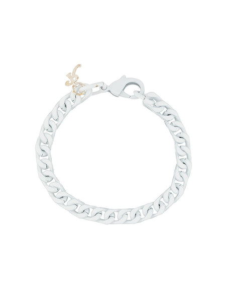 Square Curb-Chain Bracelet