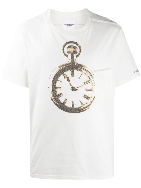 Clock Face Graphic T-Shirt
